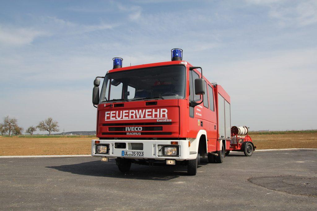 Die Fahrzeuge der Abteilung Dornstadt.