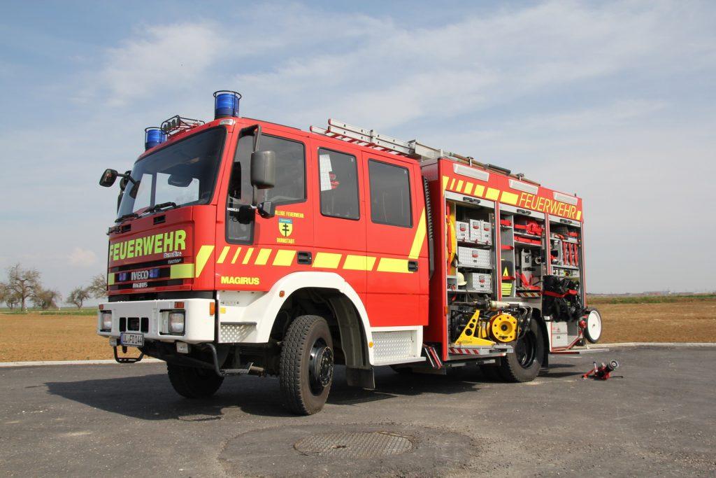 Das HLF20/24 der Abteilung Dornstadt.