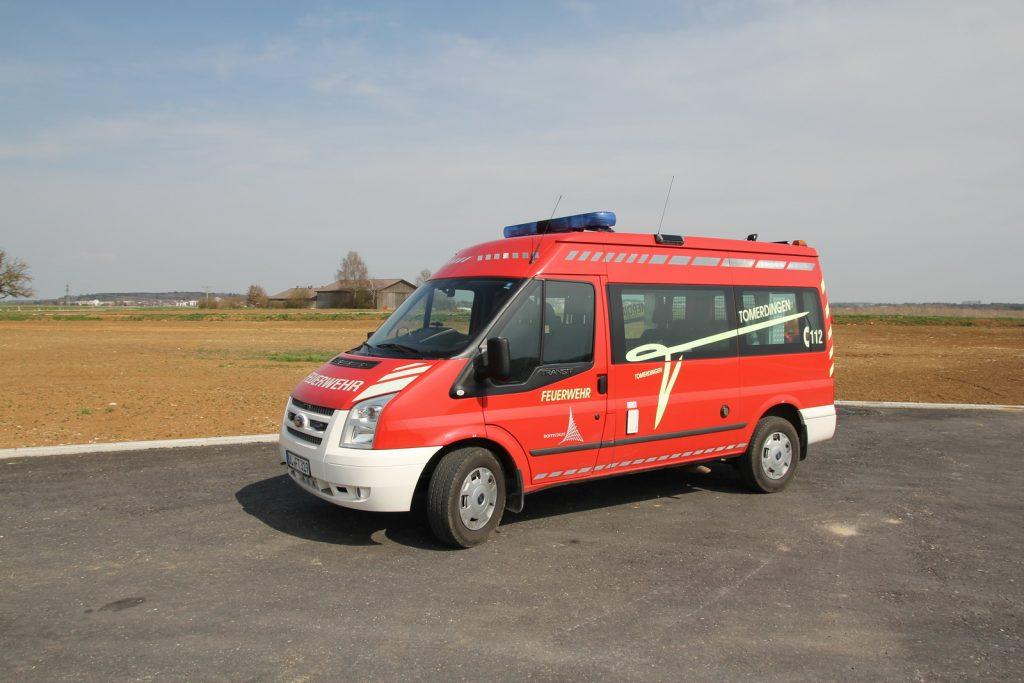 Der Mannschaftstransportwagen (MTW) aus dem Jahr 2014.